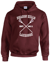 BEACON HILLS LACROSSE HOODIE - INSPIRED BY TEEN WOLF